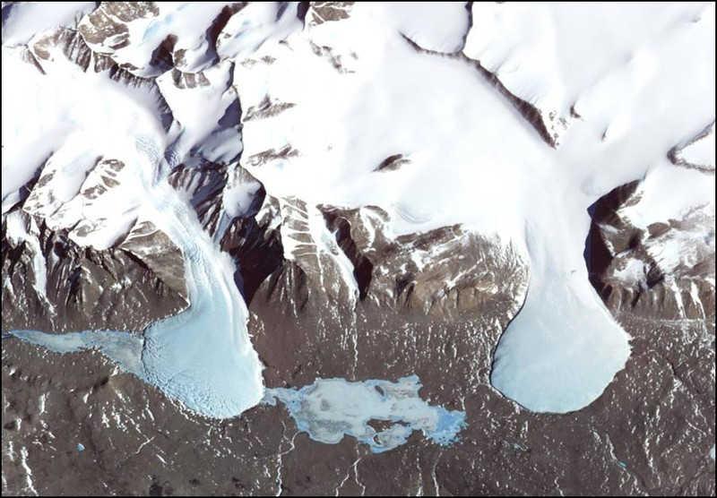 Lodowce na Antarktydzie