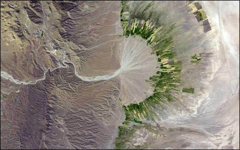 Wyschniętarzeka w Iranie