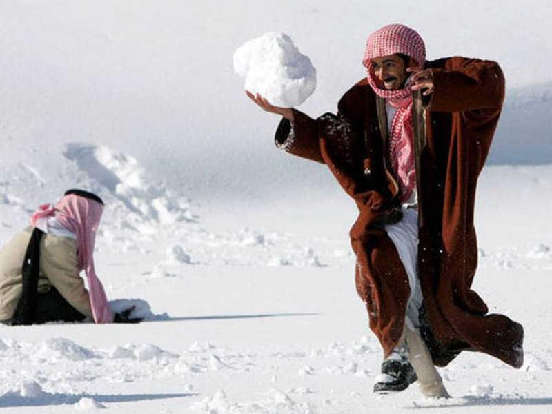 Zabawy w śniegu