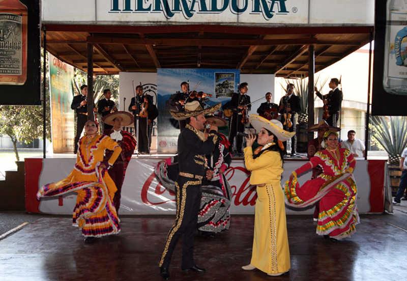 Pokaz tańców meksykańskich