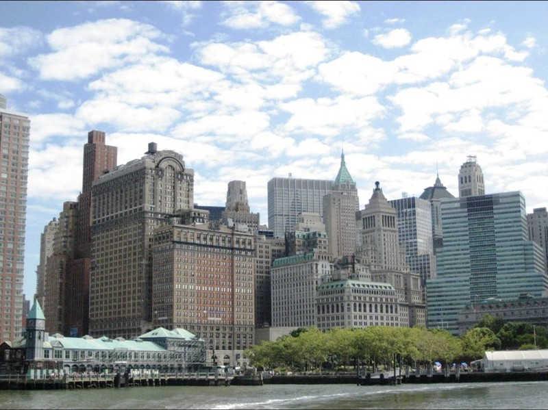 Grupa budynków w Nowym Jorku