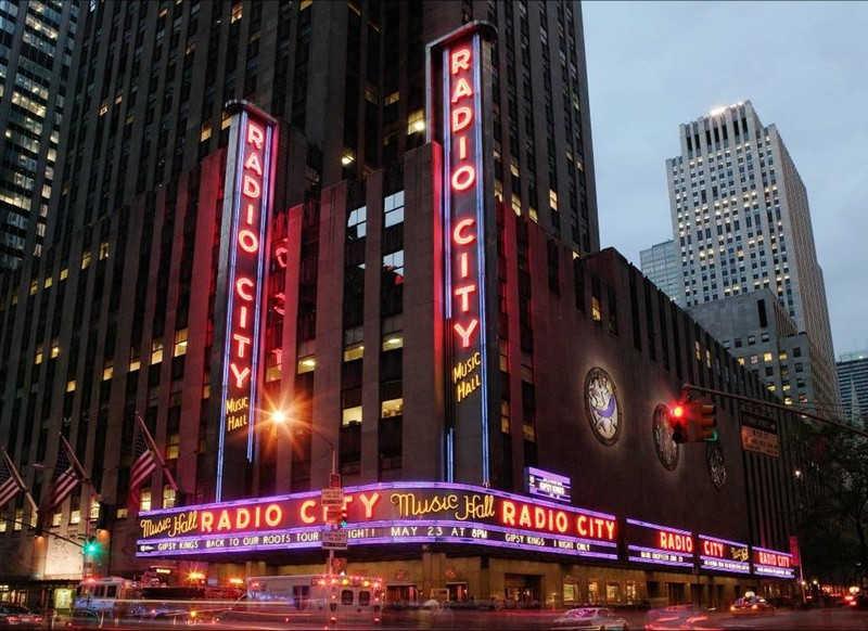 Budynki radia w Nowym Jorku